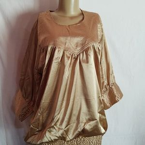Tunic Gold Longsleeves